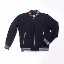 Men`s knit bomber jacket